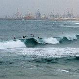 Ashdod surfing at Hakshtot (the Marina), Hakshtot (Ashdod)