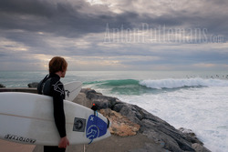 Pier view surf Varazze 09/11/2011 - Anton Puttemans photo