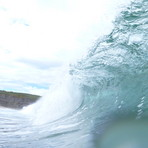 Cliffy wall, Clifton Beach