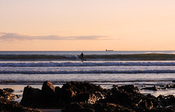 Winter surf, Ballycotton photo