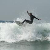 colea culea, Playa El Palmar