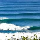 nice left, Port Macquarie-Town Beach