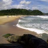 Nice summer day in Brazil, praia da Juréia - São sebastião