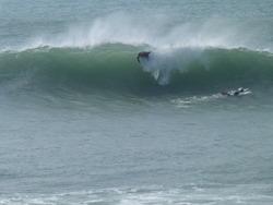 Sunday Surfers, Porthleven photo