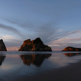 Wharariki Beach