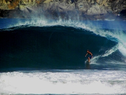 Double overhead!, Zicatela photo