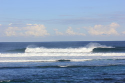 The spread, left or right at surfers point. photo