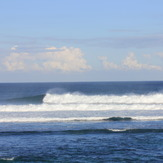 The spread, left or right at surfers point.