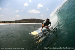 Surfing Nicaragua, Playa Colorado photo
