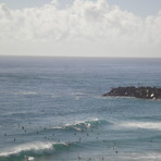D`bah on a quiet day, Christmas holidays, Duranbah