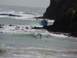 south end medlands beach / big SE swell  photo