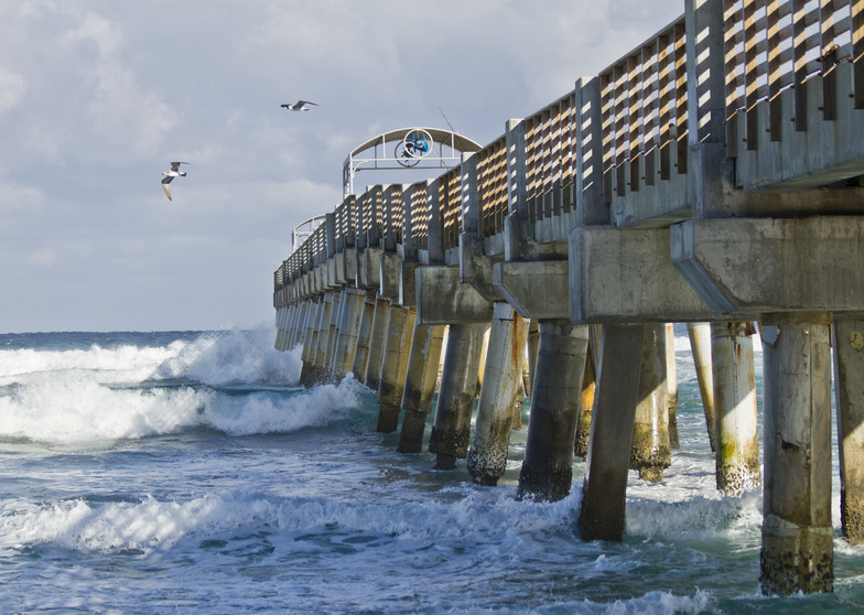 Lake worth pier surf photo by 4 04 for Lake worth pier fishing