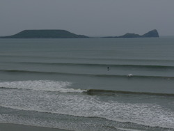 Clean swell at Rhossili photo