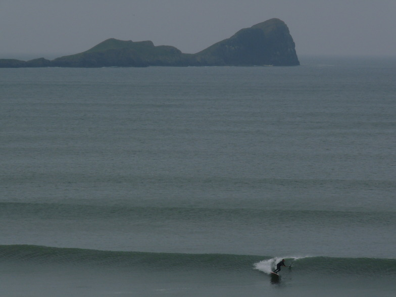 SUP at Rhossili