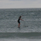 Paddle surfer Lehinch (Lahinch)Ireland