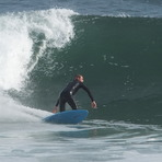 bottom turn, Punta Rocas