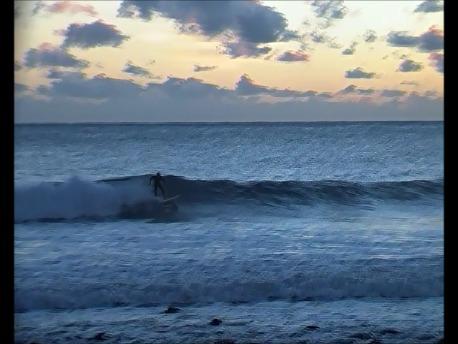 early morning surf, Tam O'Shanter