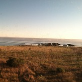 Envy of the CA Coast: Lone house, private land, INSANE RIGHT POINTBREAK, Government Point