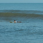 morning surf at Tg Aru, Tanjung Aru Beach 3
