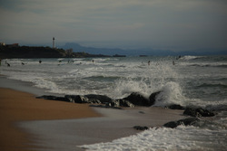 Rocks near and Far, Anglet - La Petite Madrague photo