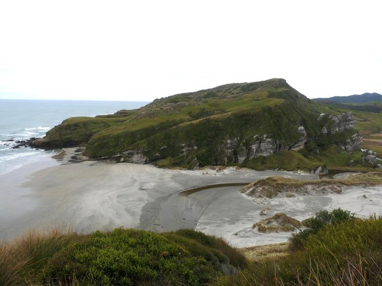 Kaihoka Beach - Empty, Fergusons Beach