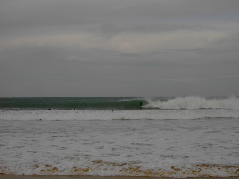 dia buenas olas, El Sardinero - Primera