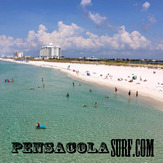 Saturday Midday Report 08/04/12, Pensacola Beach