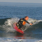 Surf Kayaking, Seabrook Beach