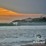 Puerto Escondido ola kiteboarding, Zicatela