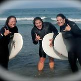 Surfing Girls, Jenness Beach