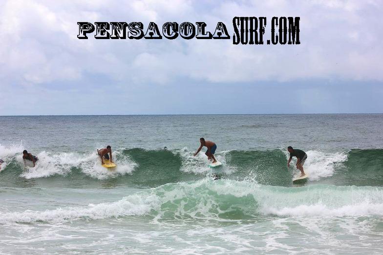 Tuesday Midday, Pensacola Beach