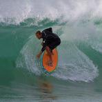 local hero, Newcastle Beach