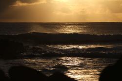 Sunset on the Hava, Motu Hava photo