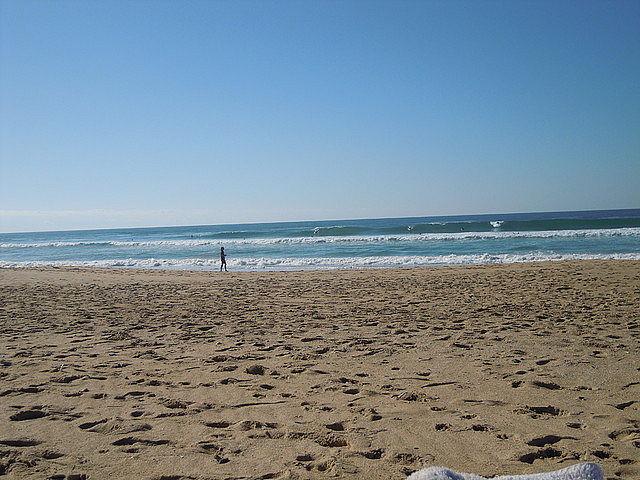 Tres piedras 14 octubre, Playa de Tres Piedras