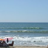 Calitas Surf waves, Playa de Tres Piedras