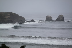 Punta de Lobos as seen from the highway photo
