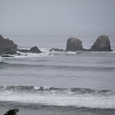 Punta de Lobos as seen from the highway
