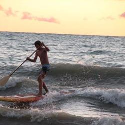 Lake Huron Sup, Bayfield photo