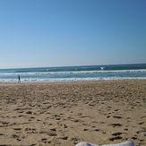 palmar glassy, Playa El Palmar