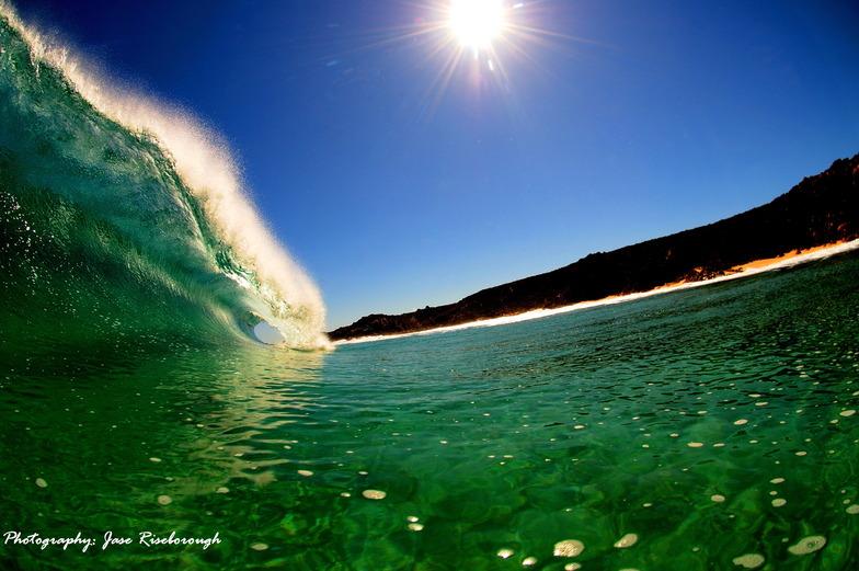 A - Frame Beachie Barrel!!, Margaret River Mouth