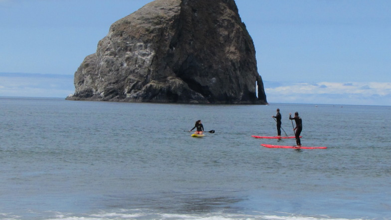 sup at cape kiwanda, Pacific City/Cape Kiwanda