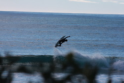 flying high, Redbill Beach photo