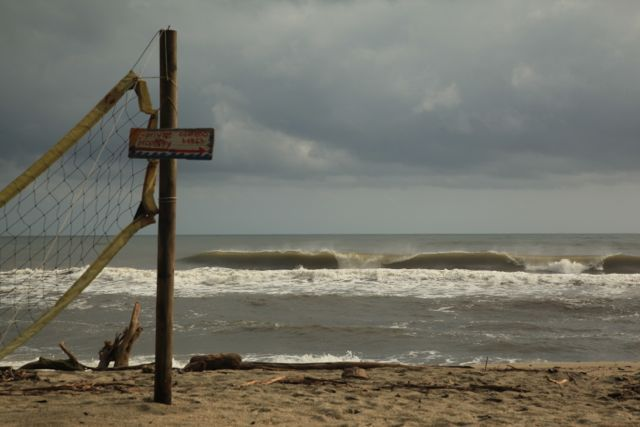 Caribbean atmosphere, Costeño Beach
