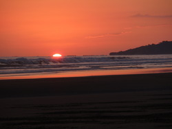 Costa Rican Sunset, Esterillos Oeste photo