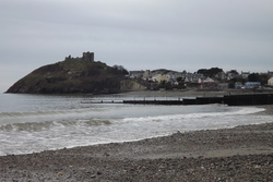 criccieth beach photo