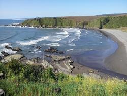 Playa Purema desde el cerro photo