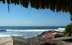 Beautiful Playa El Zonte photo