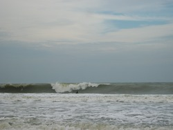 Uncrowded swell, Prachuap Khiri Khan photo