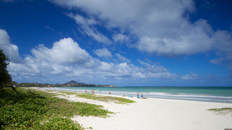 Castle Beach from the Kailuana Beach Access, Castles