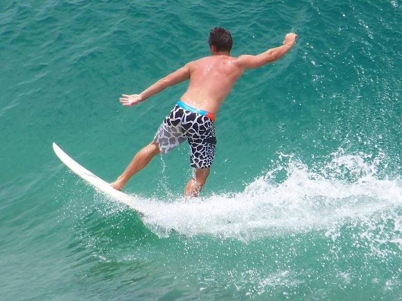 Tofinho Surfer, Praia Tofo